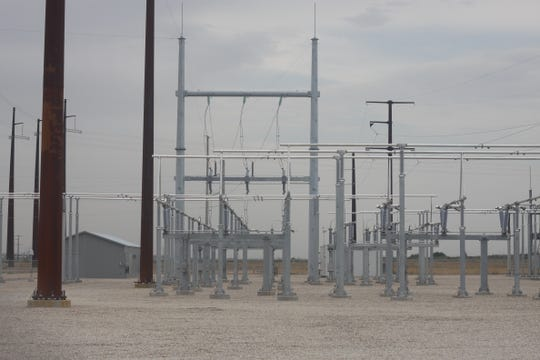 Xcel Energy's Loving substation is to be connected to another in Lubbock via a project hoped to be completed by 2021, July 26, 2018 in Loving.