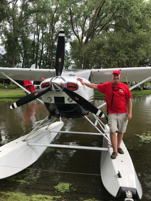 EAA AirVenture Seaplane Base Chairman Mark Wrasse has volunteered for the event for 41 years.