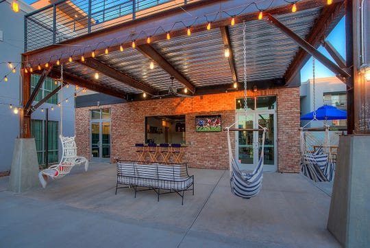 District Lofts in Gilbert opened in Gilbert's Heritage District, an increasingly trendy spot for restaurants.