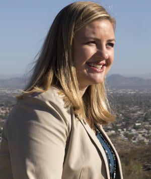 Phoenix Councilwoman Kate Gallego said she will resign Aug. 7 to run for mayor.