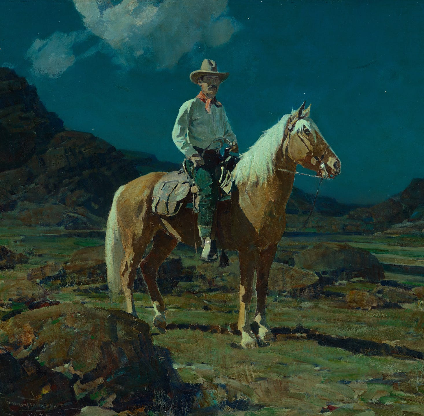 Reno judge tosses lawsuit over alleged fake Western painting
