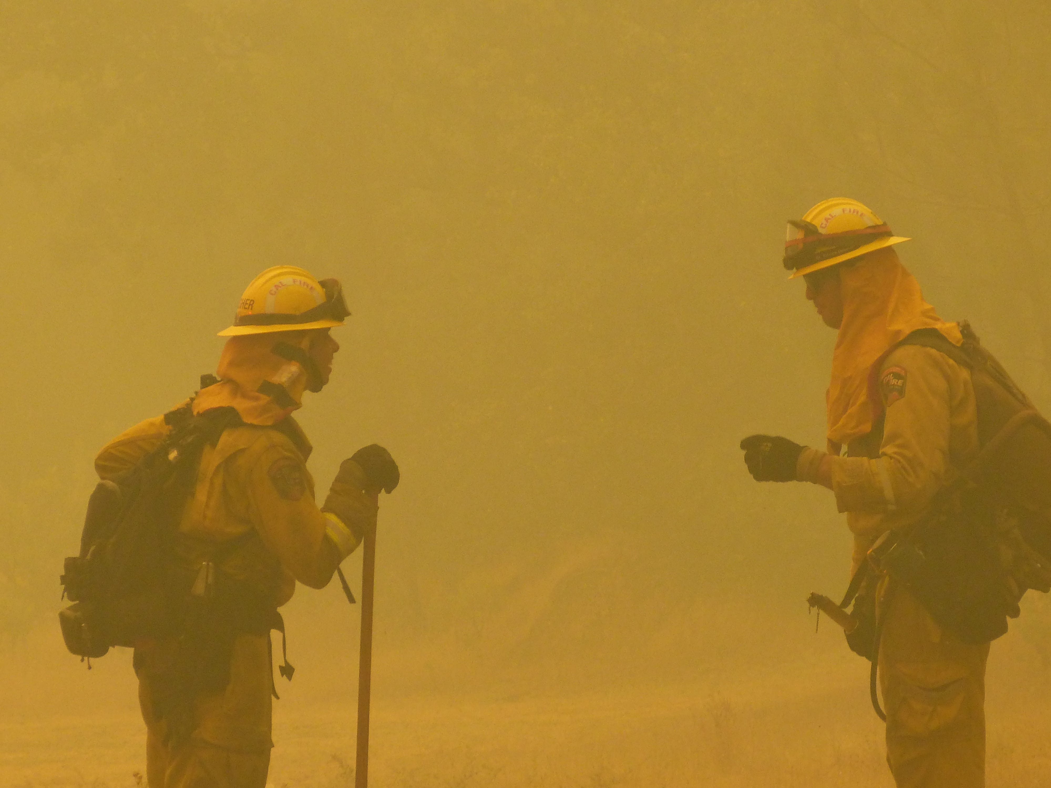 Fighting the Carr Fire