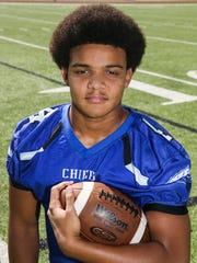 Kendall Blue, Lake View, Quarterback, 6-2, 210, Sr.  Scouting report: After serving as the Chiefs' backup quarterback last season, Blue will take over as the starter this fall. He has an impressive combination of size and speed that could make him one of the breakout players of 2018.