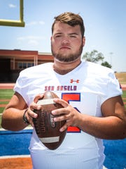 Gunner Couch is a 6-foot-2, 285-pound center for the Bobcats. The four-year starter began the 2018 season at tackle, but moved to center in Week 3.