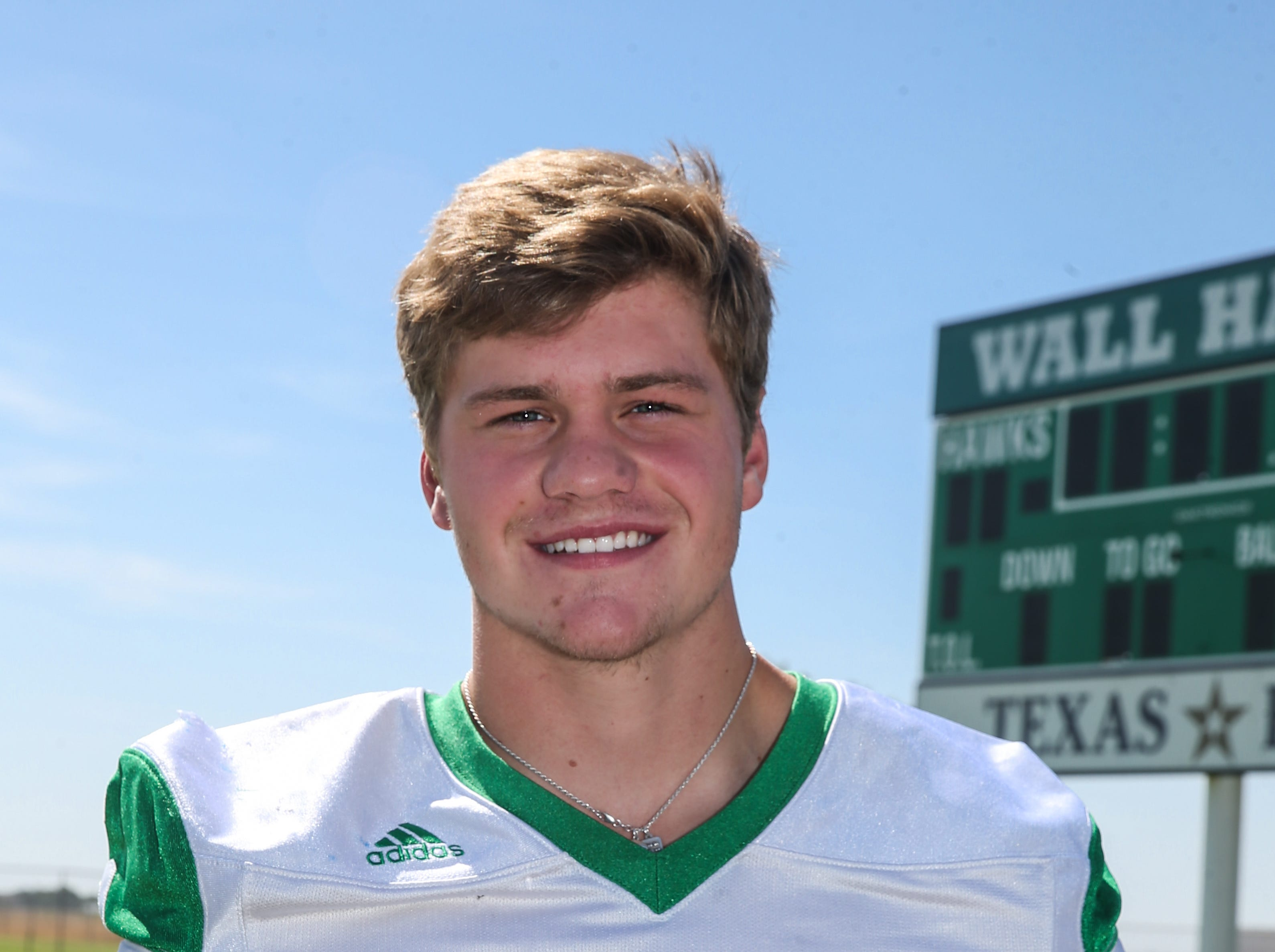 Drake Holifield, Wall, Defensive back, 6-1, 175, Sr.  Scouting report: A first-team all-district safety last year, Holifield will be one of the leaders of the Hawks' defense in 2018. He could also make an impact on offense as a running back. He showed his athleticism by taking third place in the 110 hurdles at the state track meet as a sophomore, followed by a fifth-place finish last year.
