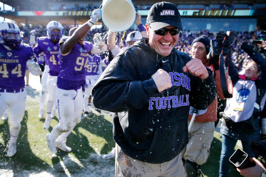 Mike Houston, who coached James Madison to the FCS national championship in 2017, will be the featured speaker at the Valley Skills Academy basketball camp on Aug. 25 at Eastern Mennonite High School.