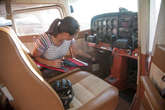 Ha'aheo Carpenter says she's wanted to be a commercial airline pilot since she was 11.