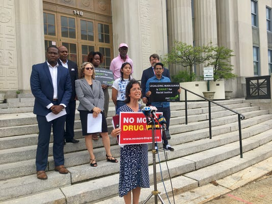 Nada Khader discusses report on disparities in marijuana misdemeanor arrests