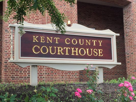 Kent County Courthouse Sign