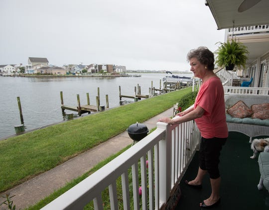 Marcia Funk's husband, Michael Funk, died from a Vibrio vulnificus infection in 2016 after cleaning his crab pots and wading in the Assawoman Bay in Ocean City, Md.