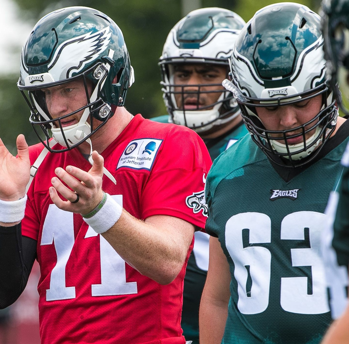 Book it: Eagles' Carson Wentz shows he'll be ready for Week 1