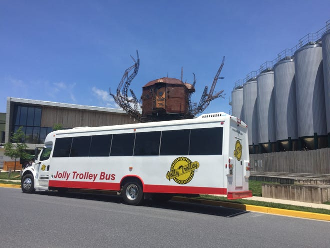 A new partnership between Dogfish Head and Jolly Trolley offers weekend shuttle rides connecting Rehoboth Beach, Lewes and Milton. Drinking beer on board is allowed.