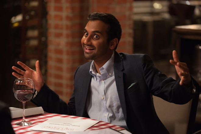 Aziz Ansari was Tom Haverford, Leslie's sarcastic employee in the parks and rec department.