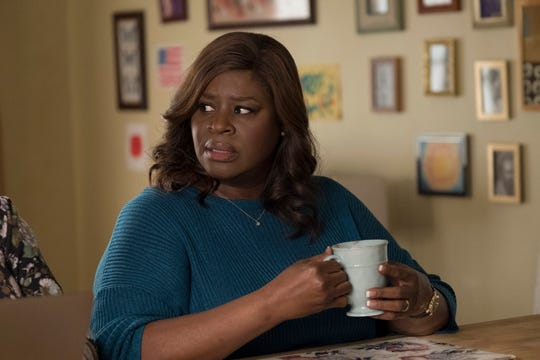 """Retta, who played """"Parks and Recreation"""" employee Donna Meagle, currently stars on NBC's """"Good Girls"""" as a desperate suburban mother who robs a grocery store with two friends to help her daughter. The series has been renewed for a second season."""