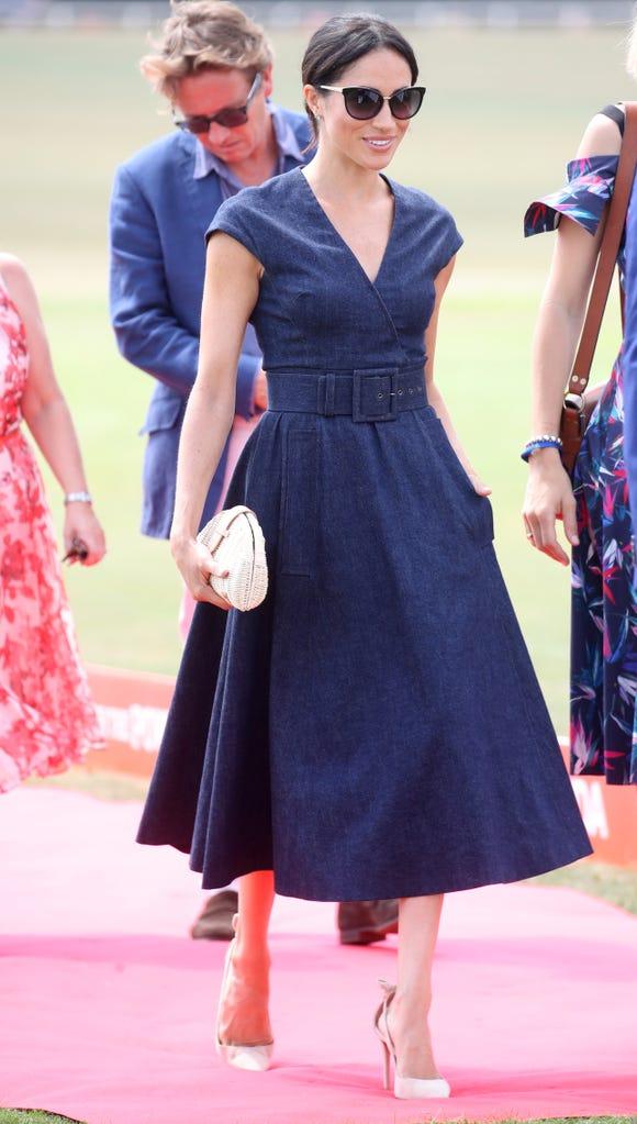 A duchess in denim.