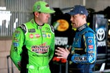 There will be some extra heat between two of NASCAR's hottest drivers, Kyle Busch and Kevin Harvick, after a controversial finish at New Hampshire.