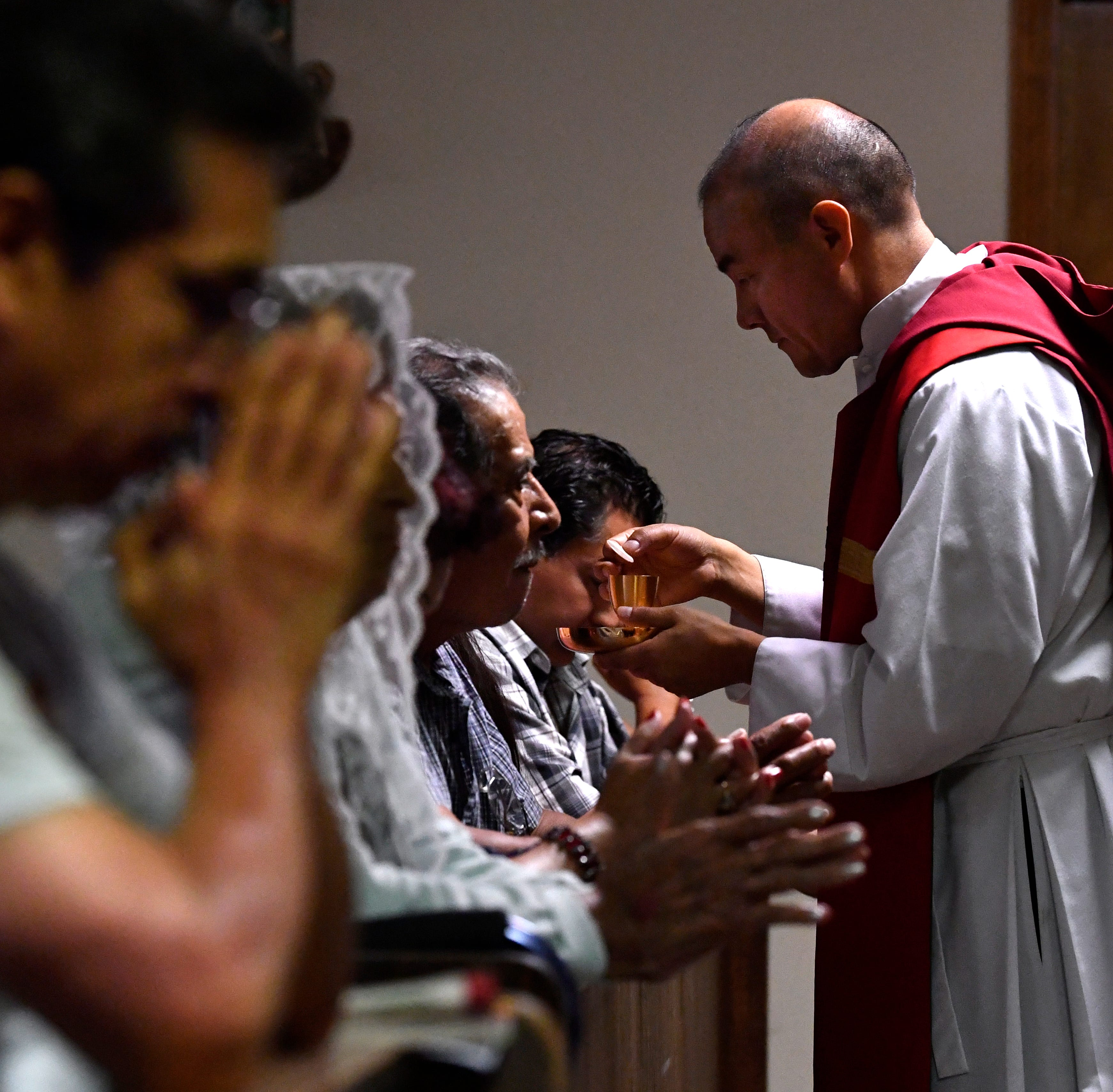 Well-traveled road brings Mexican-born priest to St. Vincent's in Abilene