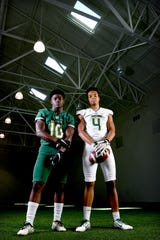 Seniors Sidney Gibbs and Keyvaun Cobb are ready to lead the Christ School Greenies this season.