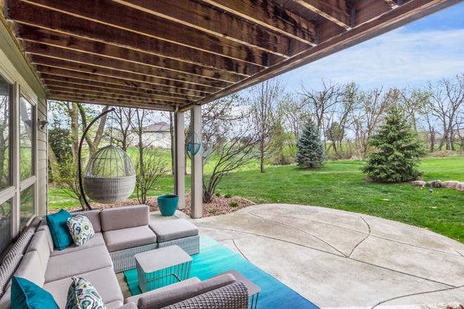 This Pleasant Hill home boasts 4,145 sq. ft. of finished space, four bedrooms and four bathrooms. The home's remodeled lower level is ideal for entertaining guests with a new bar and theater room that features five screens.