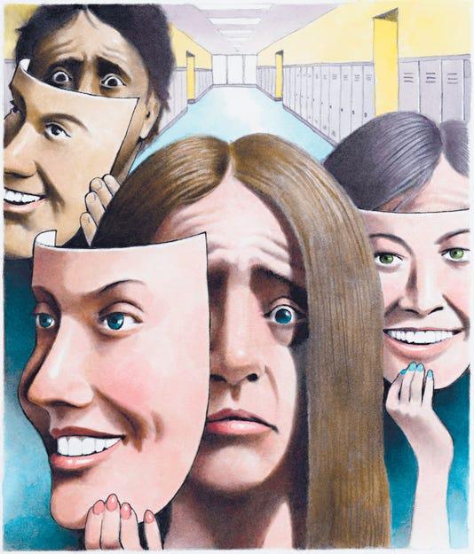 Illustration Student Depression