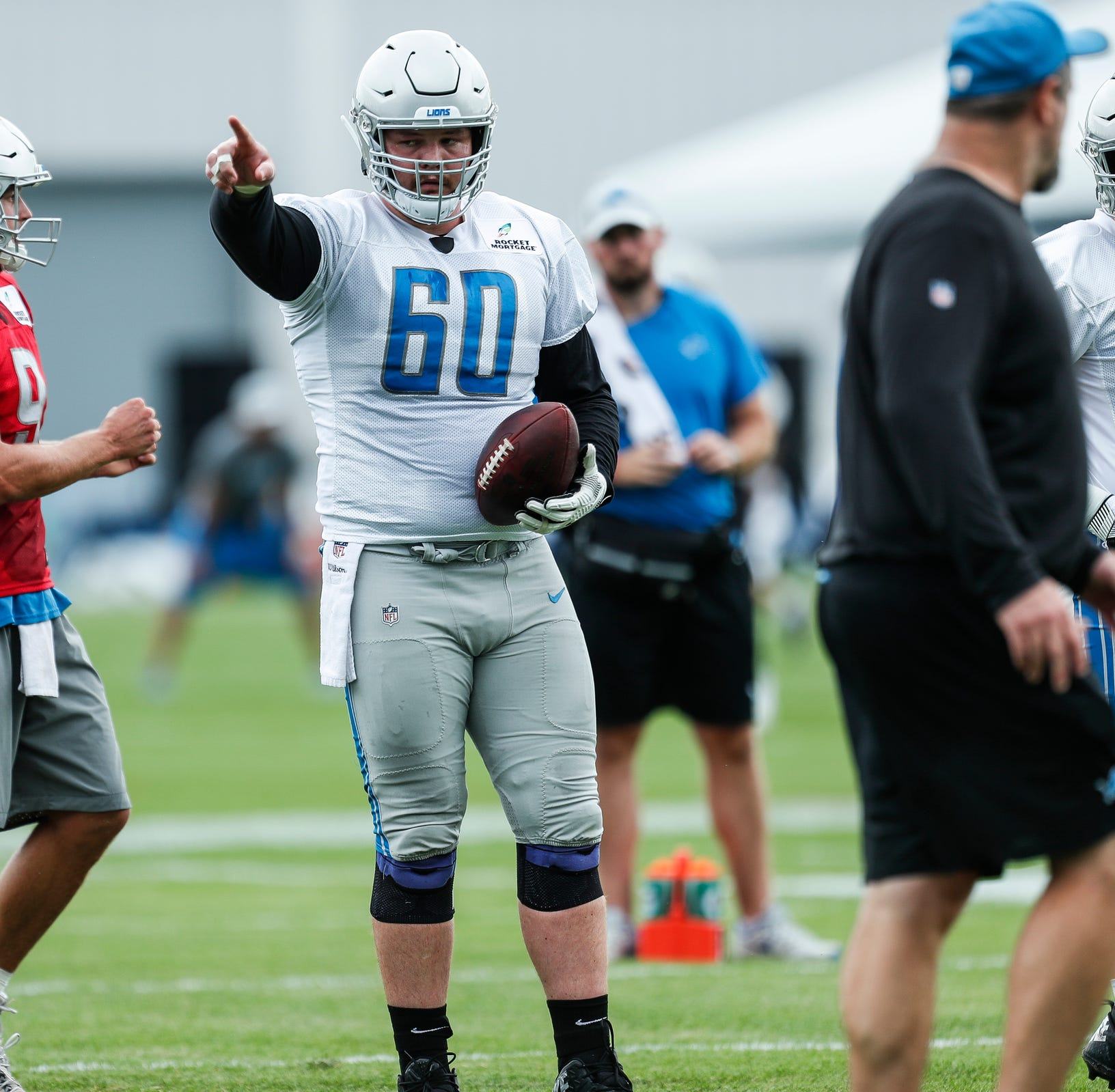 Detroit Lions' Graham Glasgow not thinking contract, out to be NFL's best center