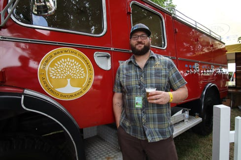 Jon Wagner, head brewer at Arbor Brewing Co., of Ann Arbor.