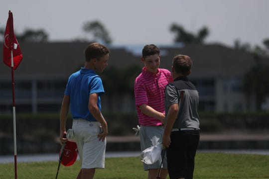 Images from the 2019 Henke Berg Junior Masters at Stoneybrook Golf Club in Estero. Kim Egozi and Jonah Manning were the winners in the older divisions.