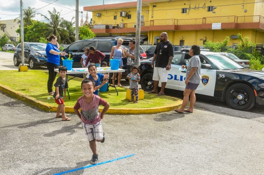 The Department of Public Health & Social Services' Kariñu program and the Guam's Alternative Lifestyle Association (GALA) non-profit group hosted a Power of Play outreach event at the  Hemlani's Harmon Apartments on Friday, July 27, 2018.