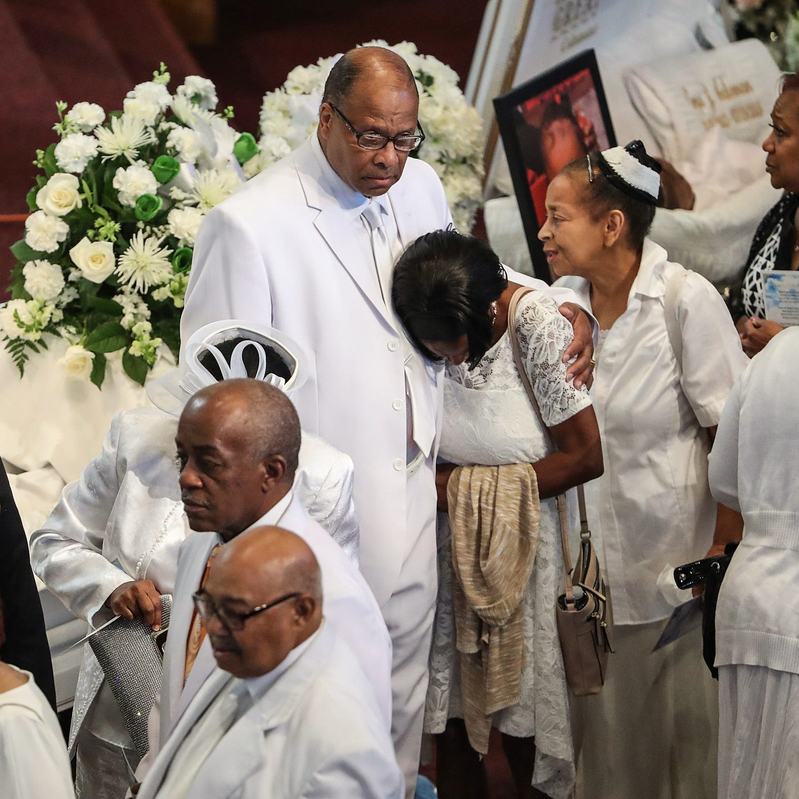 Coleman family funeral: 'Love is being demonstrated here today'