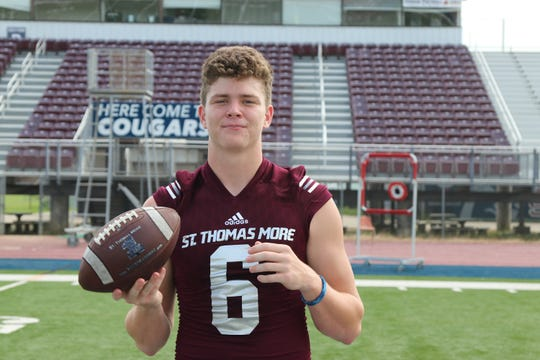 St. Thomas More junior Caleb Holstein is one of the top returning quarterbacks in the Acadiana area.