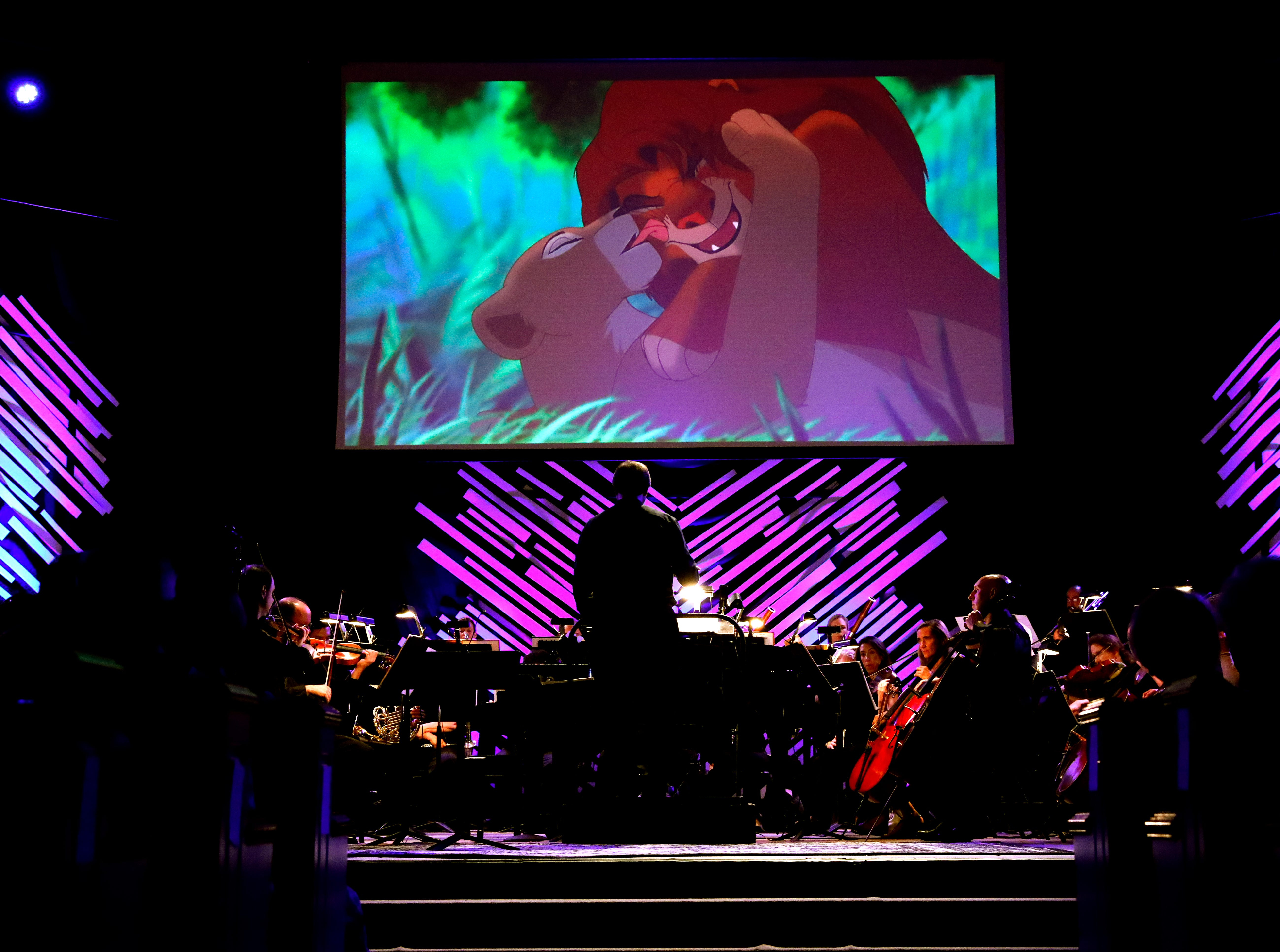 The Lancaster Festival Orchestra performed songs from the Disney catalog Thursday night, July 26, 2018, at Fairfield Christian Church in Lancater.