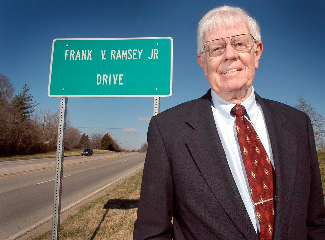 Frank Ramsey was a former University of Kentucky and Boston Celtics star.