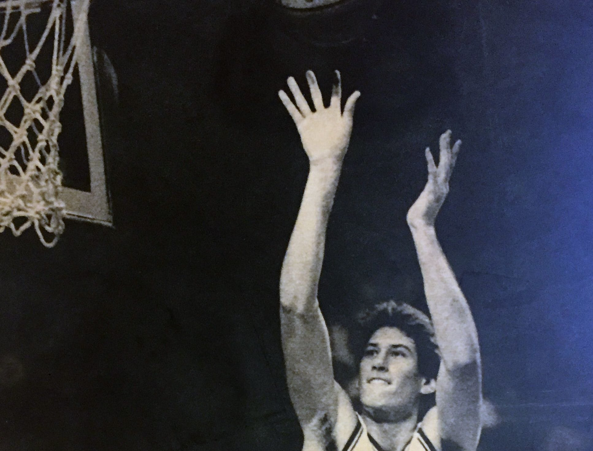 Bret Bearup was a 6-foot-9 McDonald's All-American high school star that played for the University of Kentucky from 1980 to '85.
