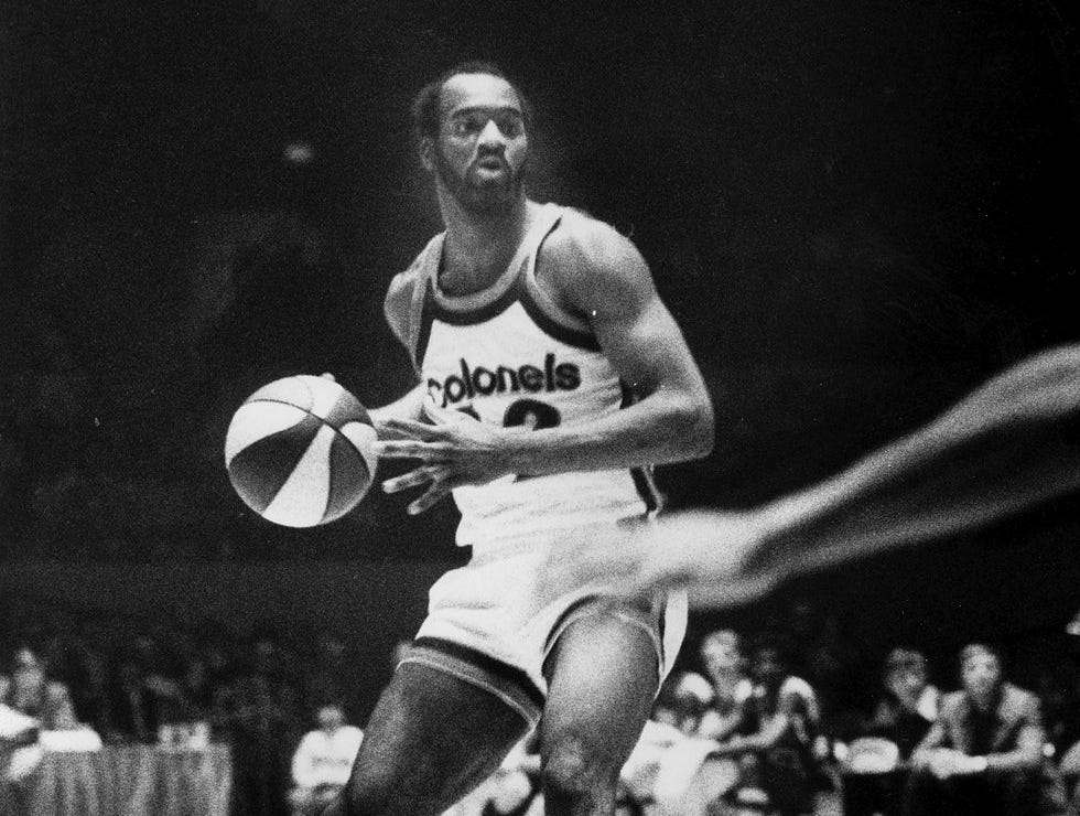 Ron Thomas was a former University of Louisville and Kentucky Colonels.