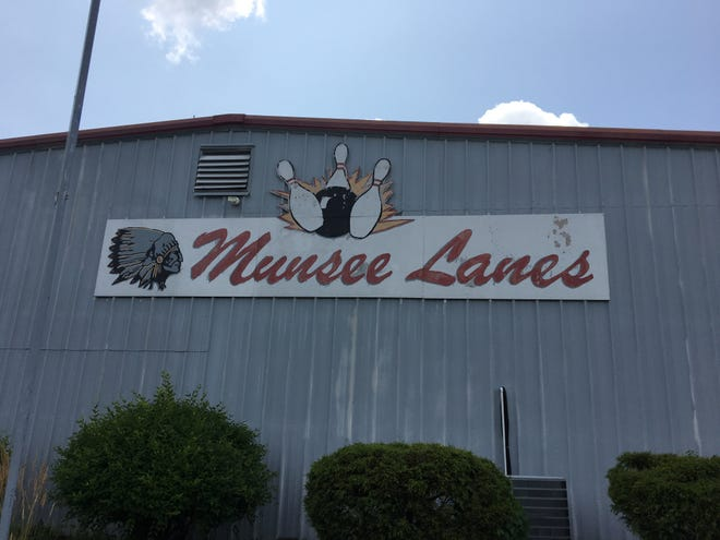 Munsee Lanes, a local longtime bowling alley at 601 E. 26th St. in Muncie, Ind.