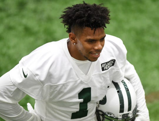 Jets training camp at the Atlantic Health Training Center in Florham Park on Friday, July 27, 2018. #1 Terrelle Pryor.