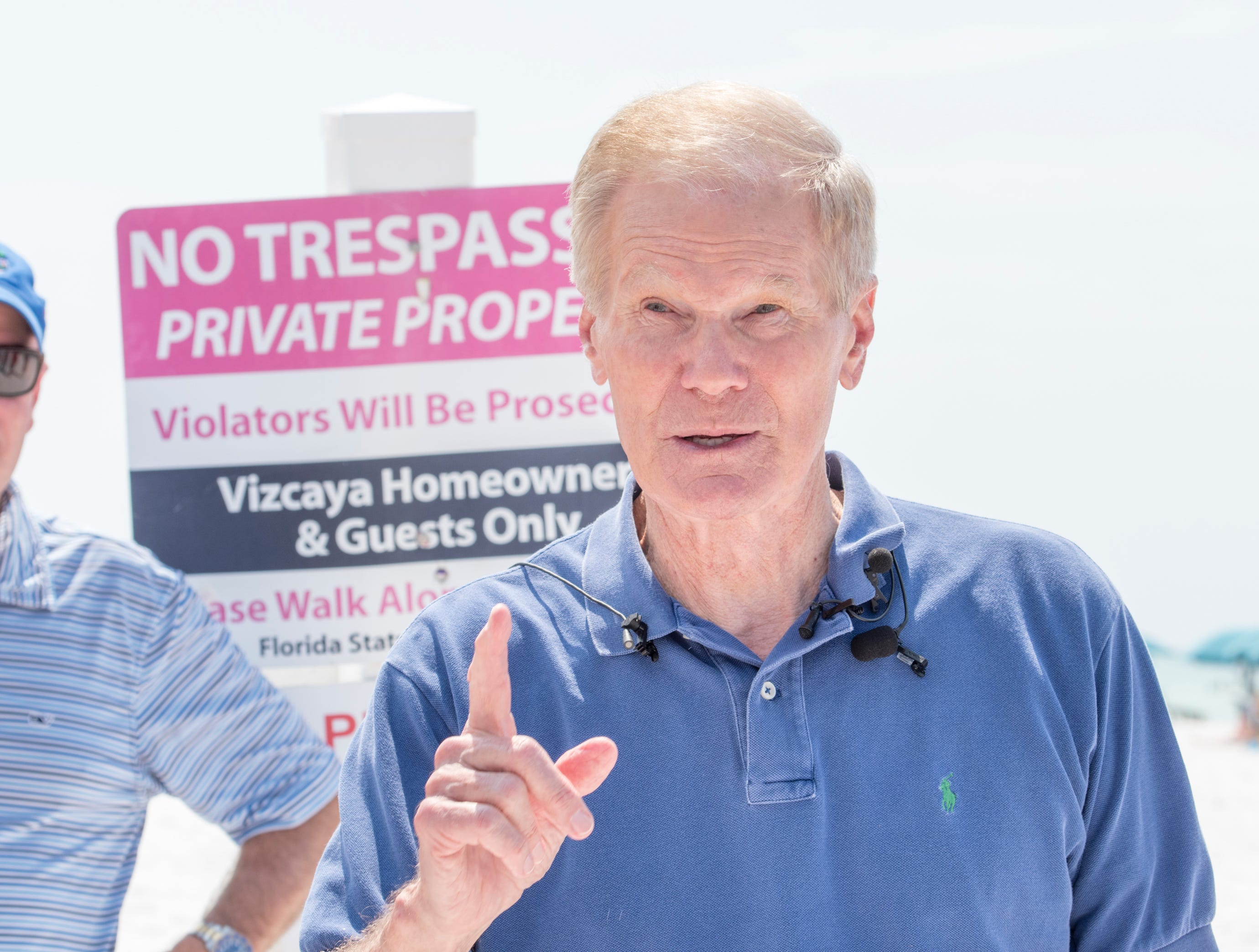 U.S. Sen. Bill Nelson calls for special legislation session on beach access issues
