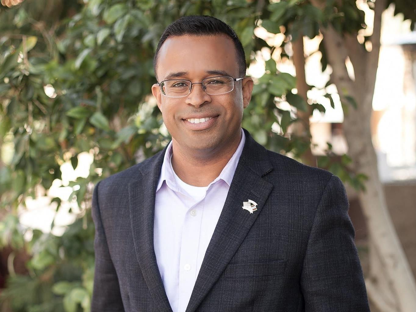 Republican Moses Sanchez is running for mayor of Phoenix.