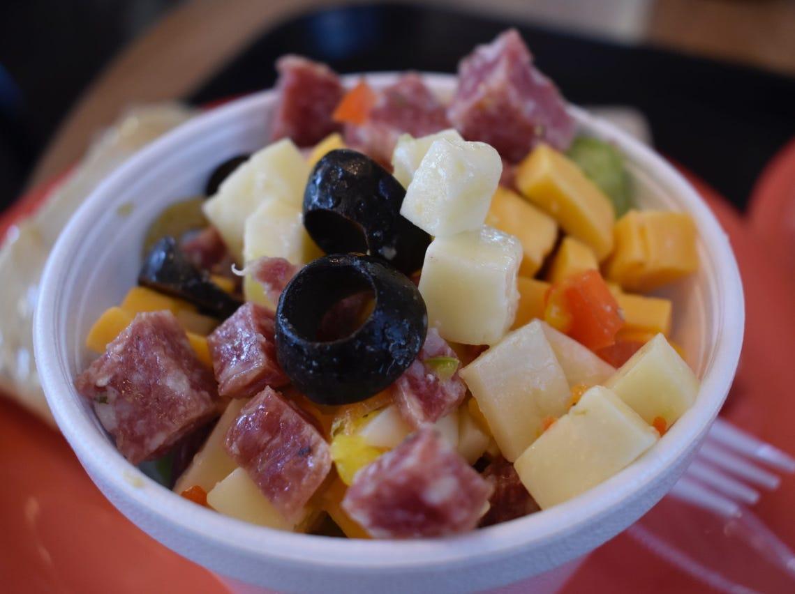 The popular antipasto salad.