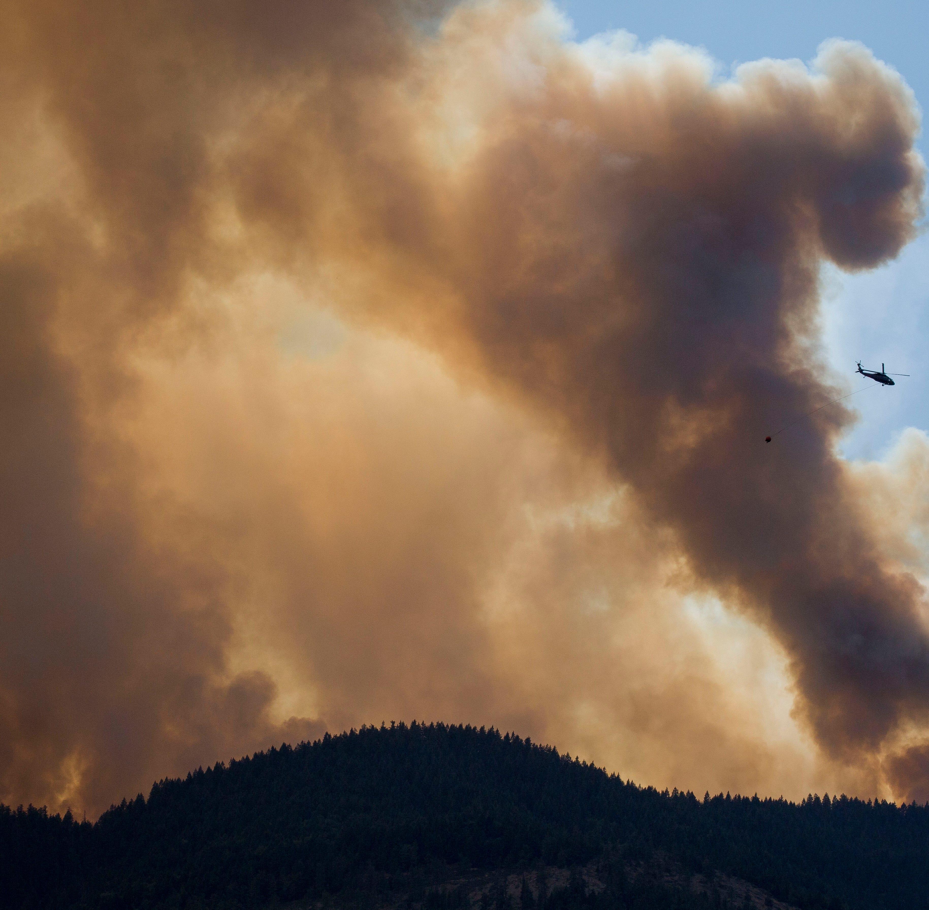 Oregon Wildfire Season 2018