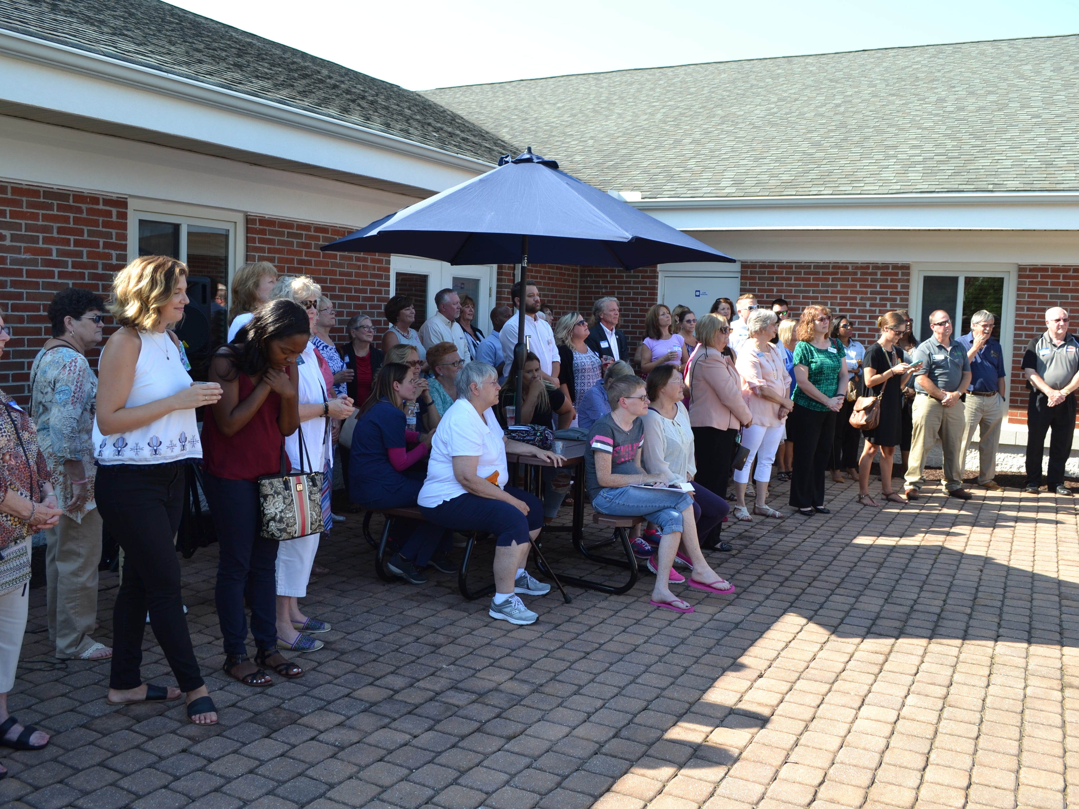 A crowd attended the 25th anniversary party for Women Supporting Women, a  breast cancer support organization in Salisbury, on Thursday, July 26.