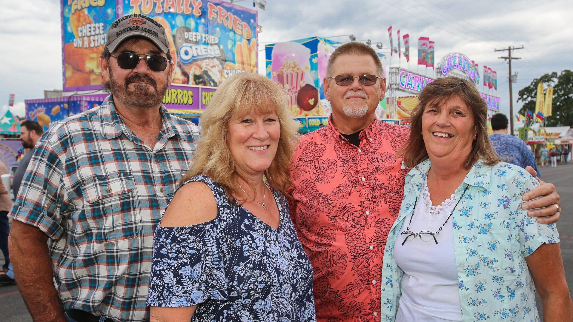 Mike, Michelle, David, and Loretta Batson