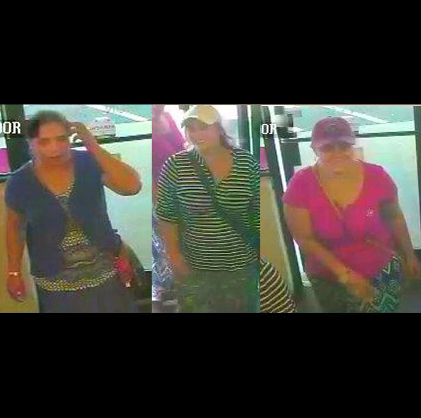 Three women entered B&J Coins in Verona Thursday and left with $10,000 worth of merchandise, according to the sheriff's office.