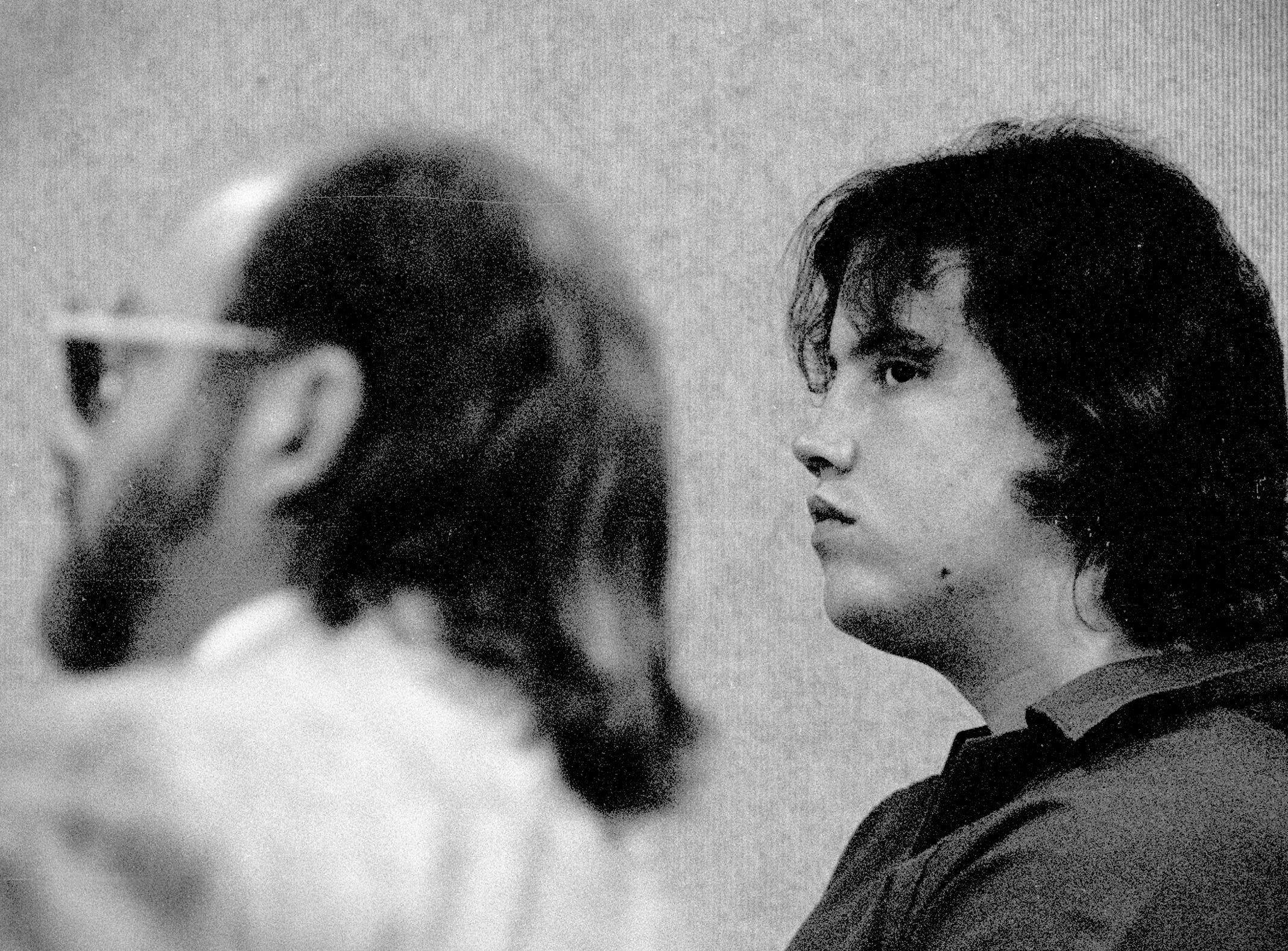 July 31, 1990 - Thomas Wyatt (right), most known for the Domino's Pizza murders, appeared in court where he and his co-defendant in the murder case, Michael Lovette, were ordered by Circuit Judge Dwight Geiger to be tried separately. The triple murders in the pizza store on State Road 60 were committed in May 1988, in Vero Beach. Wyatt had been convicted and was on death row awaiting execution when he died of natural causes in February 2013.