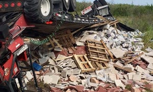 A tractor-trailer and a car crashed Thursday afternoon, July 26, 2018, at Glades Cut Off and Range Line roads, the St. Lucie County Fire District said.