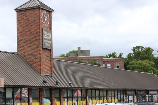 11:40 a.m - Village Square Shopping Center, Mamaroneck The time was an hour and five minutes off. It's a one-sided, front-facing clock above the Trader Joe's storefront just south of Mamaroneck High School.