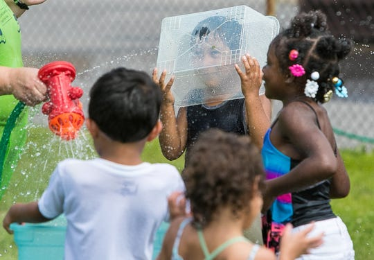 Kids enjoy Friday water day for the summer time. Though New Castle County Head Start is free to low-income families, Executive Director Jeffrey E. Benatti says enrollment has declined due to public schools offering similar programs but lacks the comprehensive programs that Head Start offers to the children and families.