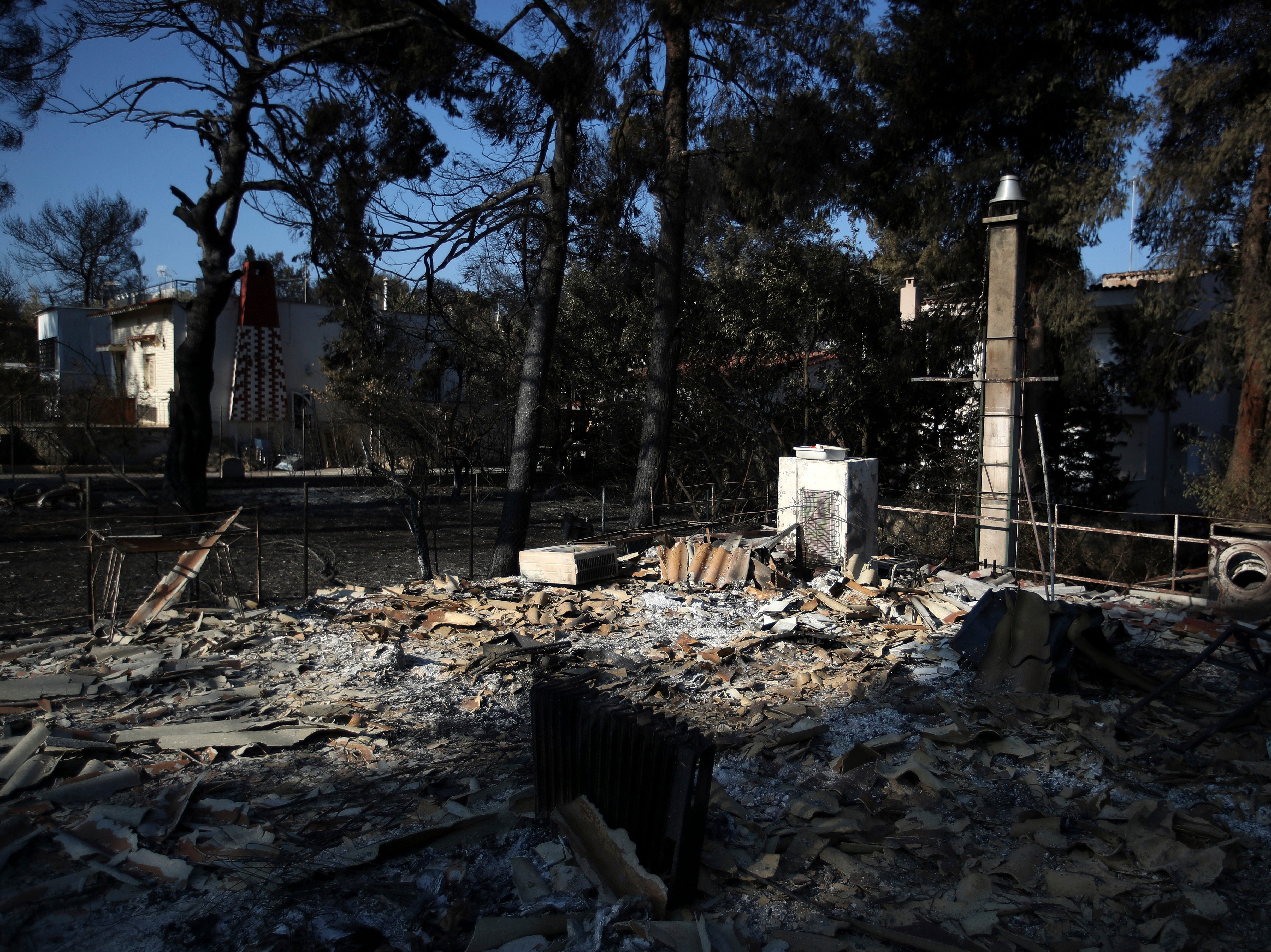 Ap Aptopix Greece Forest Fires I Grc