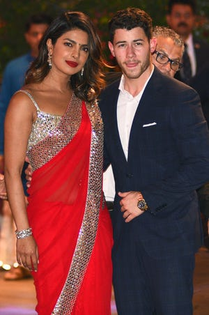 Priyanka Chopra and Nick Jonas, at a party in June, are reportedly engaged to be married.