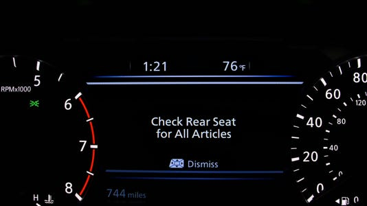 Nissan Rear Door Alert 2